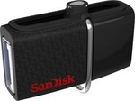 USB Flash Sandisk Ultra Dual USB Drive 3.0 16GB (130Mb/Sec, USB+microUSB, ON-THE-GO, сдвижная)